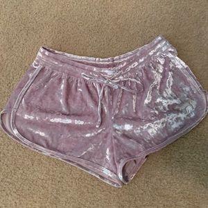 VS PINK sleep shorts